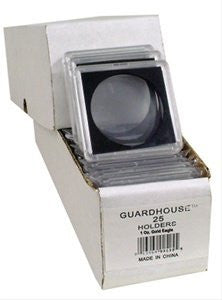 2x2 Coin Holders Box of 25 Guardhouse Snaplocks for One Ounce Gold Eagles - Funzalo Toys