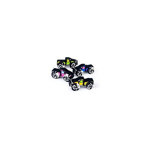 "Fun Express - Monster Truck Erasers (12 Pack), 2"" x 1"" - Funzalo Toys"