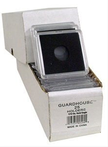2x2 Coin Holders Box of 25 Guardhouse Snaplocks for 1/10 Ounce Gold Eagles - Funzalo Toys