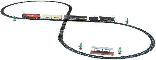 WowToyz Classic Train Classic Train Set - 40 Piece with Steam Engine - Funzalo Toys