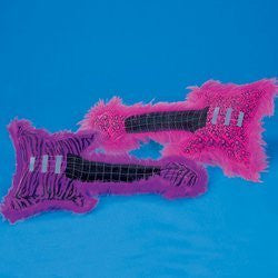 PLUSH PINK ROCK STAR GUITAR - Funzalo Toys