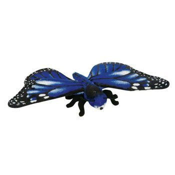 Adventure Planet Plush - BUTTERFLY (Blue Morpho) ( 13 inch ) - Funzalo Toys