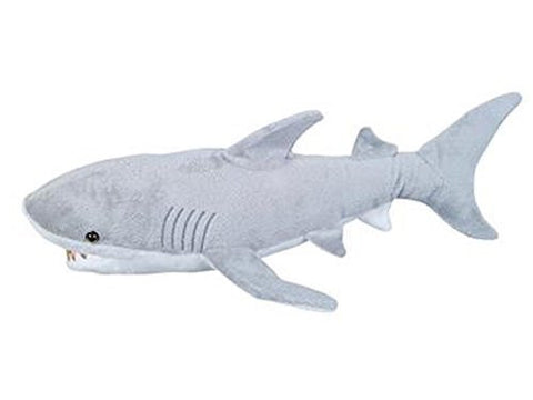 Adventure Planet Plush - GREAT WHITE SHARK (18 inch) - Funzalo Toys