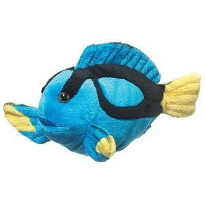 Blue Tang Fish Plush Toy - Funzalo Toys