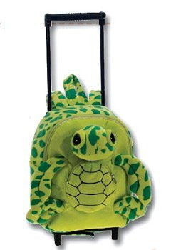 "Big Eye Turtle Trolley Backpack 12"" by Fiesta - Funzalo Toys"