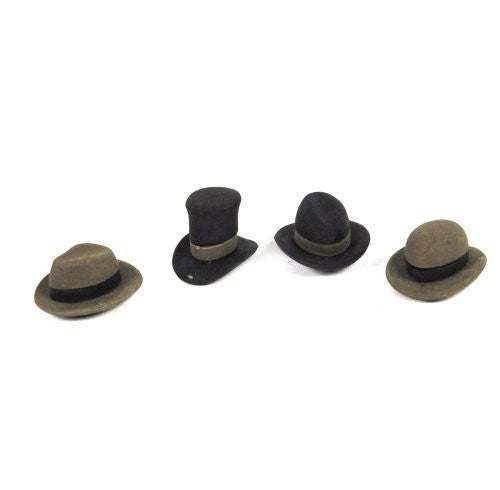 Pencil Eraser Hats,contain four assorted hats - Funzalo Toys