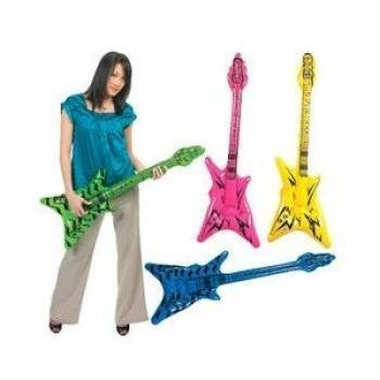 "42"" Inflate ""V"" Guitar - Funzalo Toys"