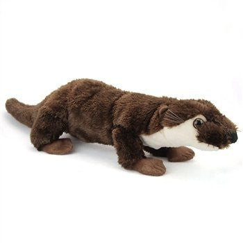 Plush River Otter 23 Inch Conservation Critter by Wildlife Artists - Funzalo Toys