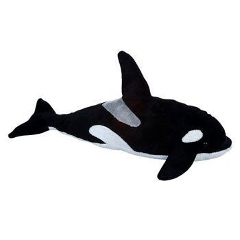 Adventure Planet Plush - KILLER WHALE ( 12 inch ) - Funzalo Toys
