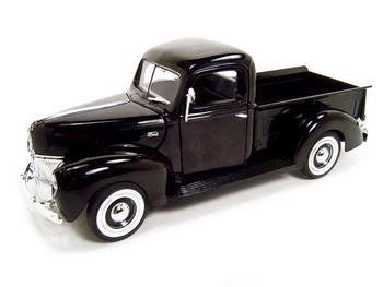 1940 Ford Pickup Truck 1/18 Black by TDS - Funzalo Toys