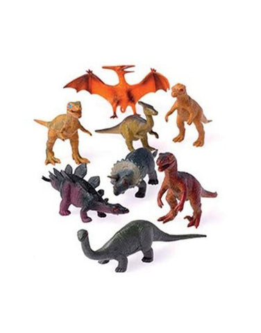Jurassic World, 12 - Assorted Medium Sized Plastic Toy Dinosaurs Play set figures. ¡