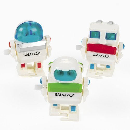 Wind Up Futuristic Robots (1 dz) by Fun Express - Funzalo Toys