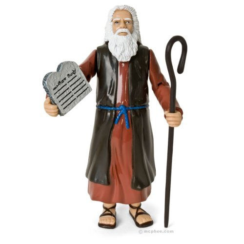 Accoutrements Moses Action Figure - Funzalo Toys