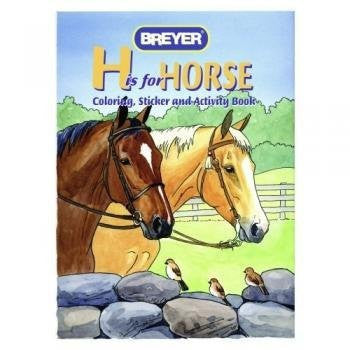 """H"" is for Horse Coloring, Sticker and Activity Book - Funzalo Toys"