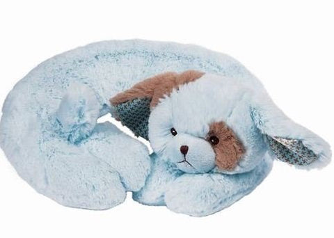 Bearington Bear Waggles Blue Travel Pillow - Funzalo Toys