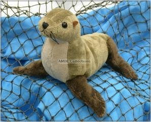 "Wishpets 8"" Northern Fur Seal Plush Toy - Funzalo Toys"