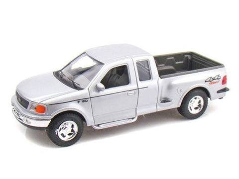 1999 Ford F-150 Truck 1/24 Silver - Funzalo Toys