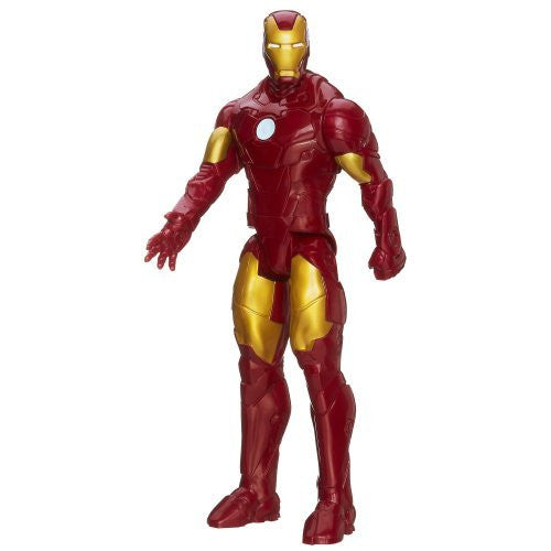 "Avengers Series Marvel Assemble Titan Hero Iron Man 12"" Action Figure - Funzalo Toys"