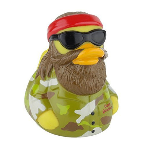 CelebriDucks Camo Quacker RUBBER DUCK Costume Quacker - Funzalo Toys