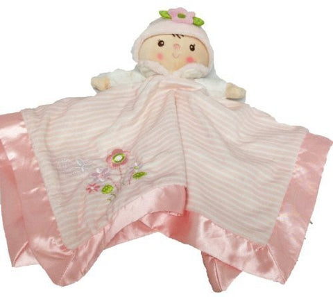 "13"" Plush Claire Doll Snuggler Blankie - Funzalo Toys"