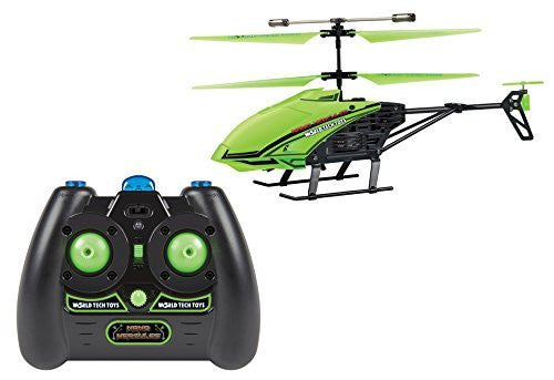World Tech Toys 3.5 CH Gyro Glow In Dark Nano Hercules Unbreakable IR Helicopter - Funzalo Toys