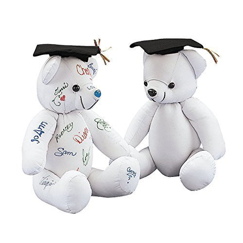 Autograph Graduation Bear (1 pc) - Funzalo Toys
