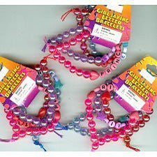 12 girl saying bracelets (assorted princess, diva, angel, hottie) - Funzalo Toys