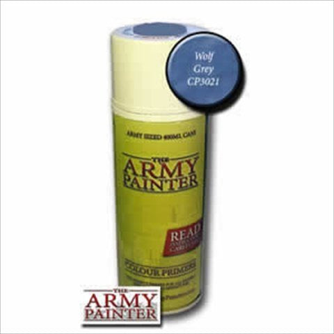 Army Painter CP3021 Colour Primer - Wolf Grey - Funzalo Toys