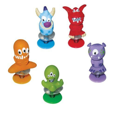 ~ 24 ~ Monster Popups ~ 2 Inch ~ New ~ Halloween Poppers Pop Ups - Funzalo Toys