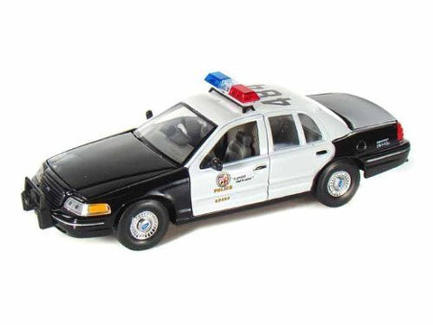 1999 Ford Crown Victoria Los Angeles Police Department Car 1/27 - Funzalo Toys