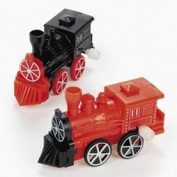 Fun Express Wind Up Trains (1-Pack of 12) - Funzalo Toys