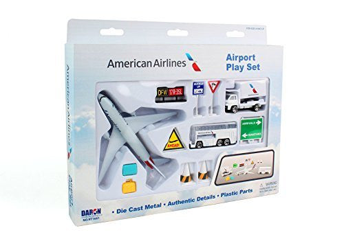 American Airlines 12pc Playset - Funzalo Toys