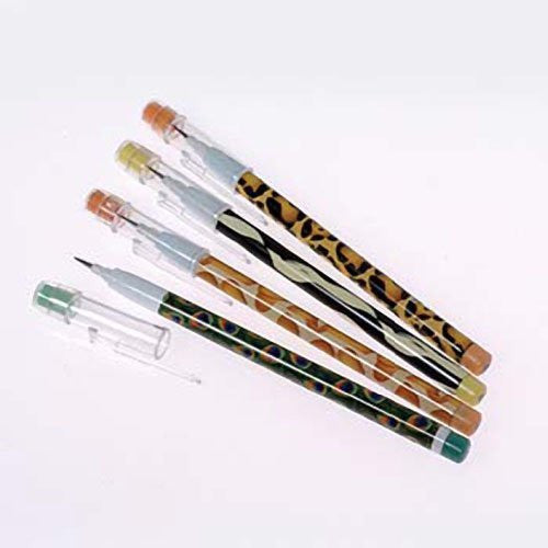 Animal Print Push Point Pencils - Funzalo Toys