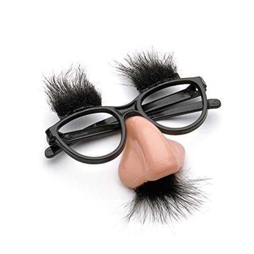 Accoutrements Fuzzy Nose and Glasses Classic Disguise - Funzalo Toys