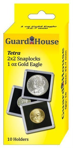 1 Oz American Gold Eagle Tetra - 10 per pack - Funzalo Toys