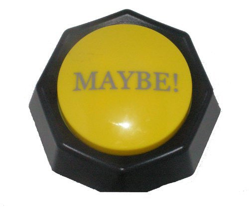 The MAYBE Button-Electronic Voice Toy-Gag Gift - Funzalo Toys