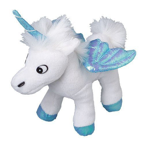 One Assorted Color Stuffed Plush Iridescent Wing Unicorn Animal Toys - Funzalo Toys