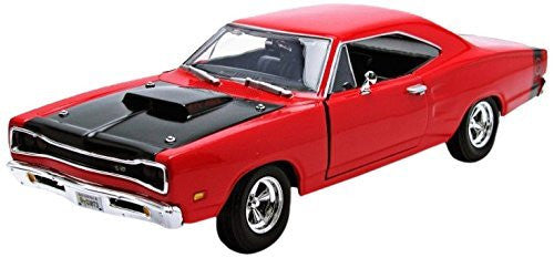 1969 Dodge Coronet Super Bee Diecast Car Model 1/24 by Motormax (Colors May Vary) - Funzalo Toys