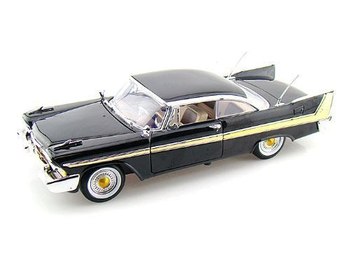 1958 Plymouth Fury 1/18 Black - Funzalo Toys