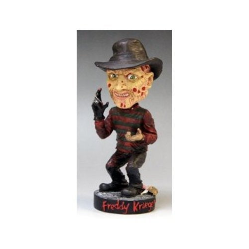 A Nightmare on Elm Street Head Knocker Freddy Krueger Bobble Head - Funzalo Toys
