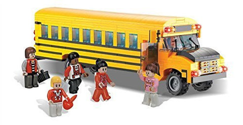 Brictek School Bus - Funzalo Toys