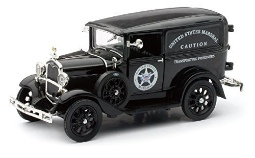 "1931 Ford Model A Truck "" US Marshall "" by Newray 1:32 Scale - Funzalo Toys"