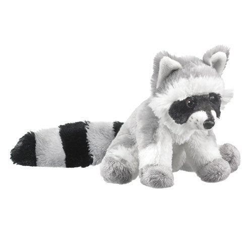 Wild Life Artist Raccoon Super Soft Plush Stuffed Animal - Funzalo Toys