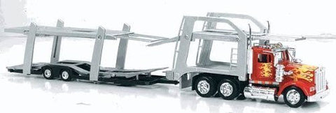 1979 Kenworth W900 Tandem Car Carrier Auto Transporter Truck- 1:43 Scale - Funzalo Toys