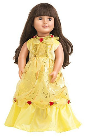 Belle of the Ball Beauty Doll Dress by Little Adventures - Funzalo Toys