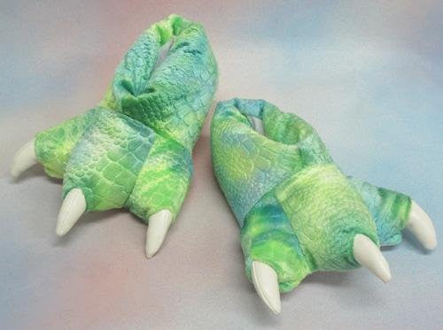 "Wishpets 12"" Dinosaur Slippers Plush Toy - Funzalo Toys"