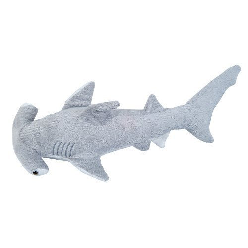 Adventure Planet Plush - HAMMER HEAD SHARK ( 13 inch ) - Funzalo Toys