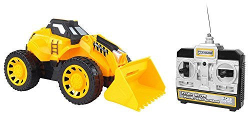 World Tech Toys Titan Elite Front End Loader Electric RC Construction Vehicle - Funzalo Toys