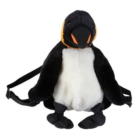 "15"" Penguin Plush Stuffed Animal Little Backpack - Funzalo Toys"