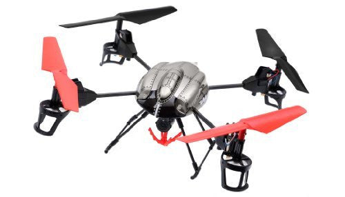 WL Toys RC 4 Channel Quadcopter V999 Future Battleship Crane Basket - Funzalo Toys